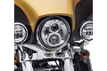 7 in. Daymaker Projector LED Headlamp - Chrome (Softail 91-17, Touring 14 UP)