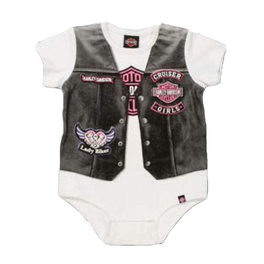 Newborn Girl Creeper with vest