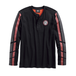 579ec22dc67 Pánské tričko HENLEY-DUAL STRIPE