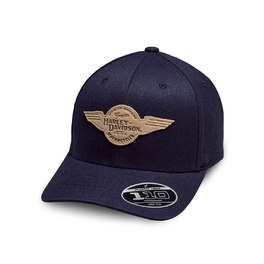 CAP-BB,WINGED PATCH,STRETC