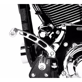 CHROME BILLET SHIFT LEVER (Dyna 1991 UP, Softail 1990 UP)