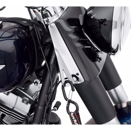 CHROME TIE-DOWN BRACKETS (Softail 2002 UP, Touring 1995 UP